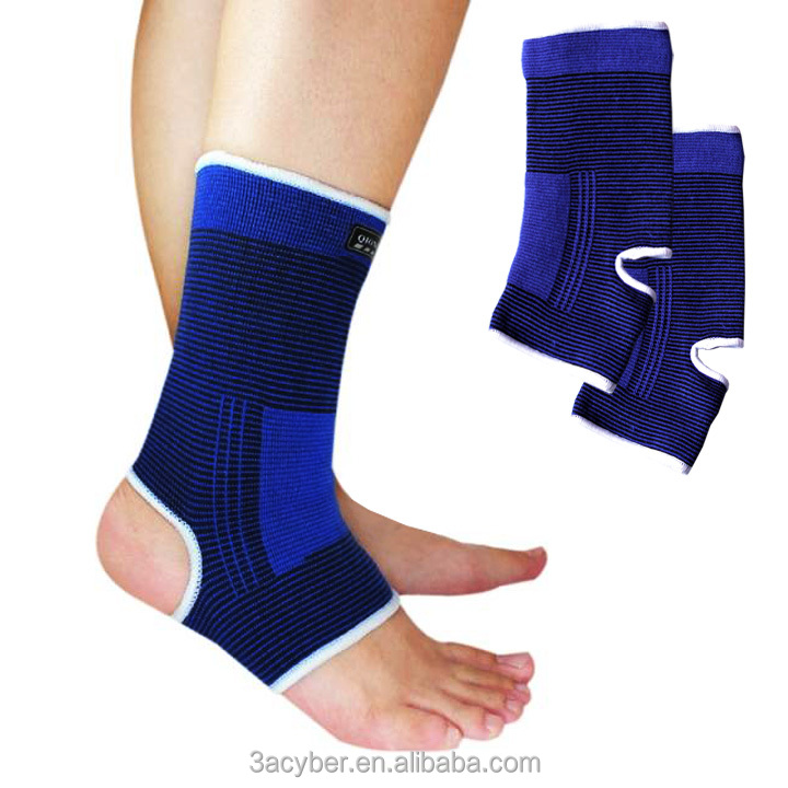 New 1 Pair Elastic Ankle Protector/ Ankle Brace/Ankle Support Blue 8.6""