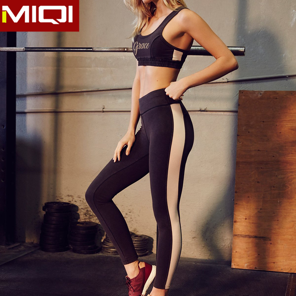 Fitness running capris for yoga and sports high quality prints sublimated fitness tights