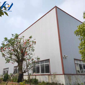 Prefabricated insulated steel buildings factory construction steel structure building
