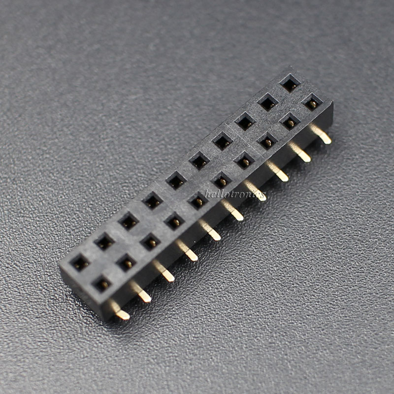 SMT GPIO Header 2x10 Pins With Caps Short Female Header