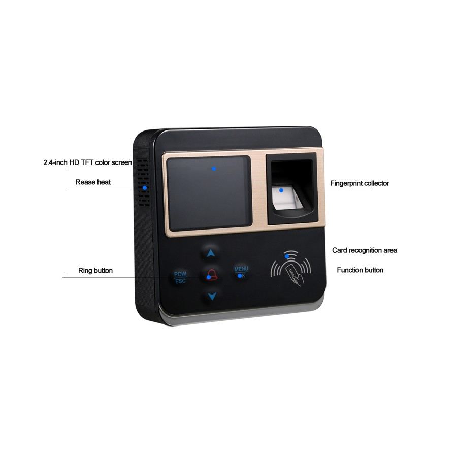 Competitive Price Fingerprint Scanner with Time Attendance Machine, Access Control