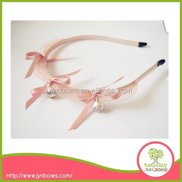 Charming wholesale adult flower headband wedding flower hairband