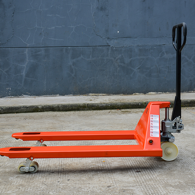 Low price manual hydraulic hand pallet truck