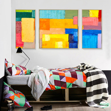 Wholesale Abstract Oil Painting Canvas Art Print for Home Decor