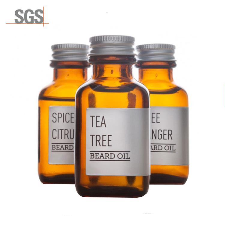 Vente chaude étiquette privée style barbe huile hommes huile de barbe organique ensemble