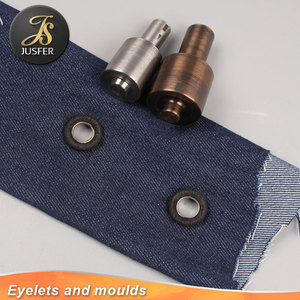 Eyelets mould punch press tooling on clothing