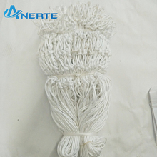 wholesale professional customized classic white basketball nets in bulk