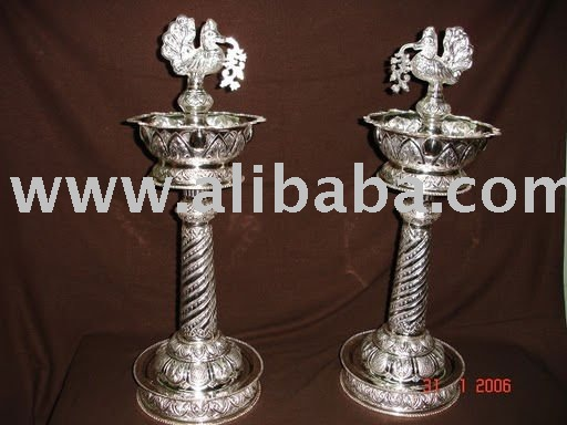 lamps used in pooja purposes of sterling silver buy religious oil lamps product on alibabacom