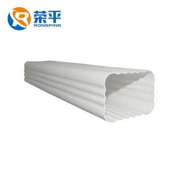 Color Roof Gutter Philippines Pvc Rain Gutter Downspout