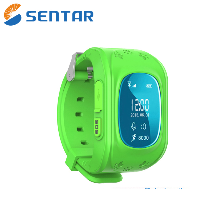 Hot Q50 Kids GPS Smart Watch Baby Care Accurate Calculator GPS Watch