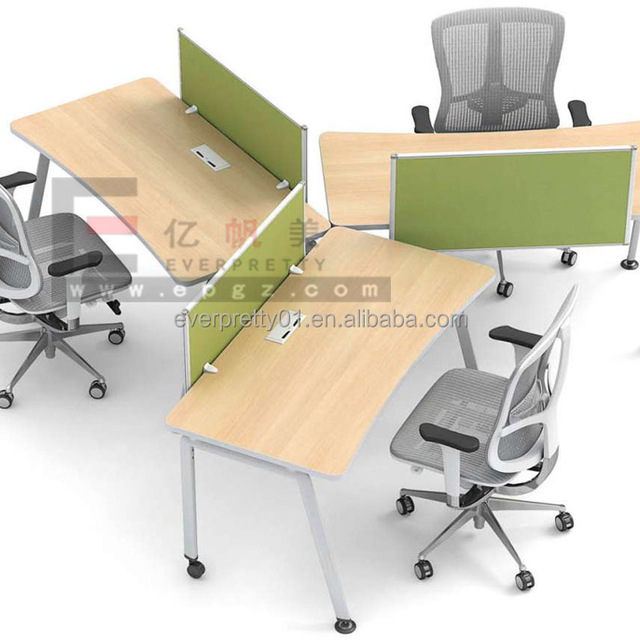 Cheap Office Workstation High Quality Office Desk Frame American Style  Furniture