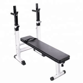 Flat style simple weight lifting bench fitness home gym equipment