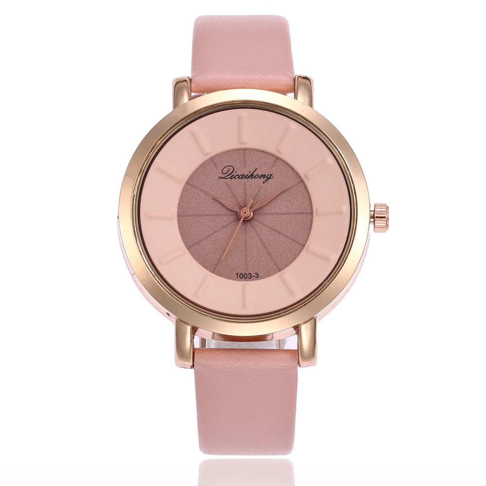 Cultural Ambience Fashion Moon Pond Paint Dial Quartz Watch For Man And Woman