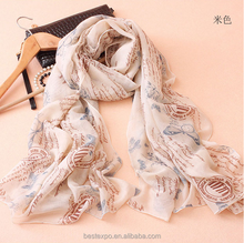 new fashion words printed fashionable scarf wholesale