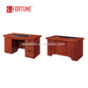 Wood veneer secretary office table /small office table design for computer workstation (FOH-AB161&FOHAB141)
