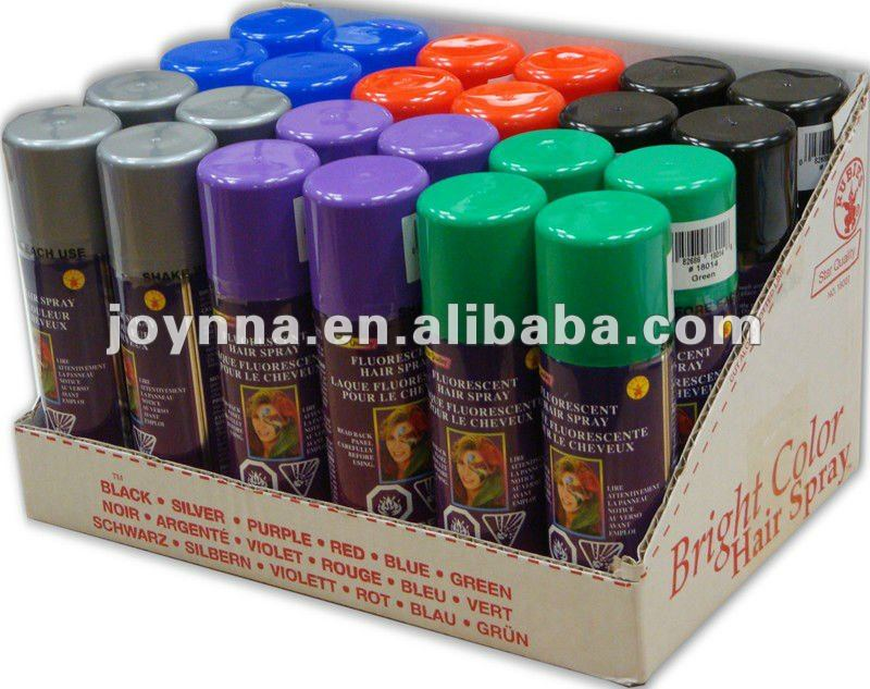 Temporary Hair Color Spray - Buy Hair Color Spray,Temperary Hair Color  Spray,Wash Out Hair Color Spray Product on Alibaba com