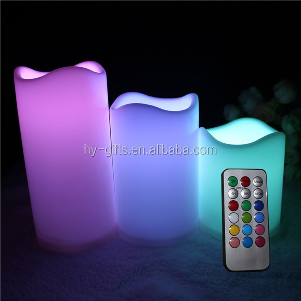 flashing remote controller led candle party electric led remote candle
