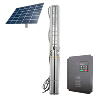solar powered water pump system work station for deep well,river and lake pumping water