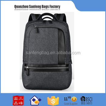 2017 BSCI Audited 600D Snow Polyester backpack