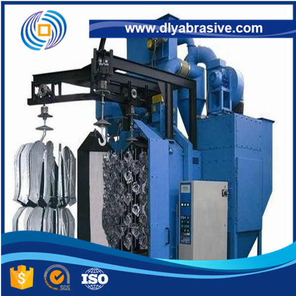 Double Hook Sand Blaster Shot Blasting Cleaning Machine