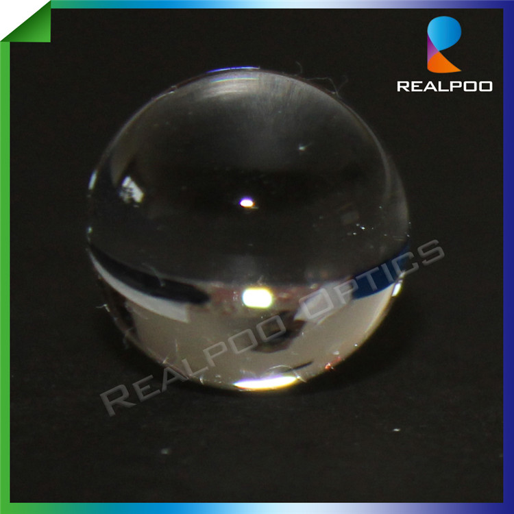 Factory offer Optical Fused silica ball lens 5mm