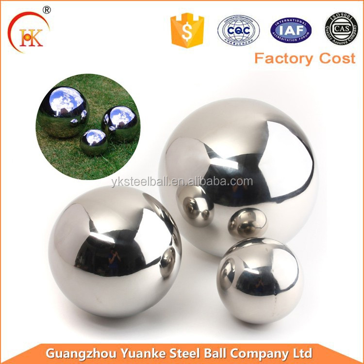 Super quality best sell huge size hollow float stainless steel ball