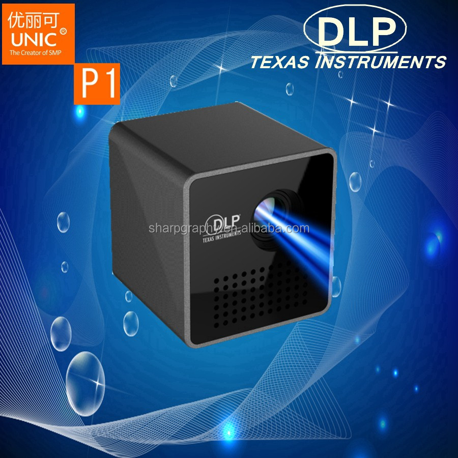 2017 New LED 30Lumens Wireless Wifi DLP Optical Engine P1+ <strong>Projector</strong> with Battery