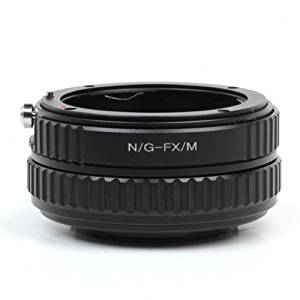 Pixco Helicoid Adjustable Macro Focusing Adapter Nikon G AF-S AI F Mount Lens to Fujifilm FX X-E1 X-Pro1 X-M1 Infinity Tube Adapter