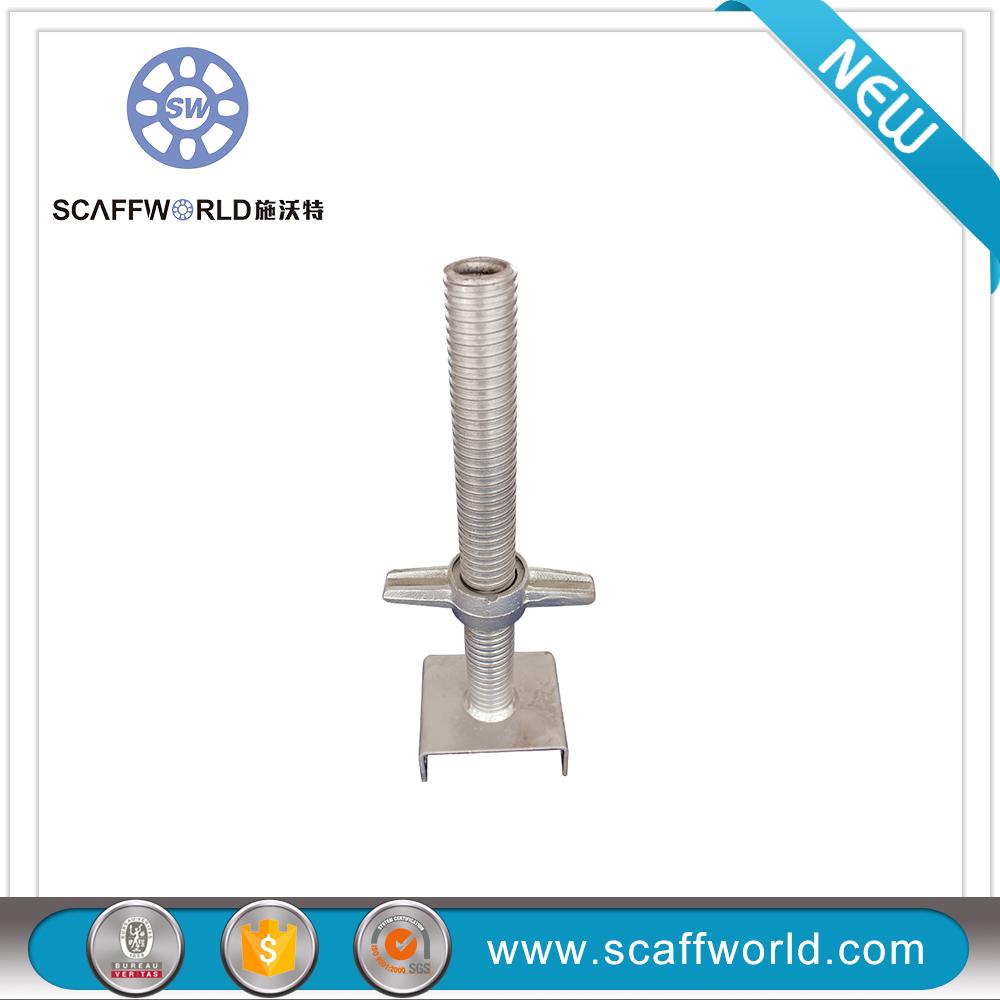 Adjustable U Head : Construction scaffolding adjustable pipe u head screw jack