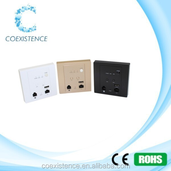 2.4ghz 150mbps mini wifi indoor hotel inwall ap/hotel wireless wall ap/firewall providers