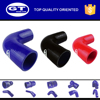 professional OEM auto parts manufacturer/industrial rubber hose/ 90 degree silicone hose