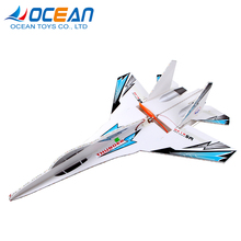 Super flying model airplanes 2.4G large 6ch rc glider plane toy with led light