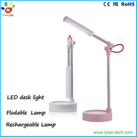 Foldable Dimmable LED Desk Lamp with Touch Sense Switch 3-Level Dimmer
