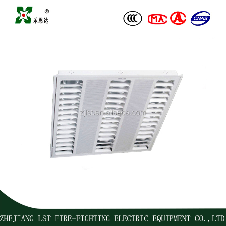 high quality fire emergency lighting fluorescent grille lamp