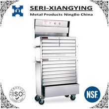NSF Approval High Capacity 36 inch Heavy Duty Stainless Steel Tool Chest/Tool Box/Tool Cabinet with Wheels and Drawers