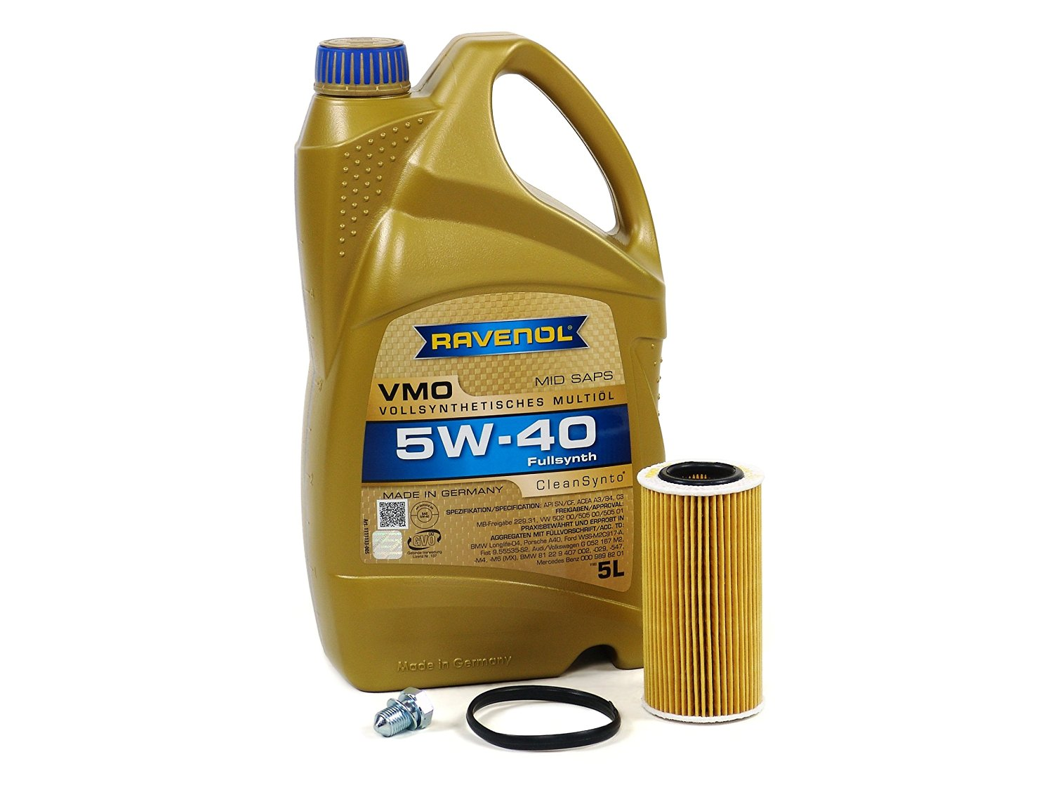 Audi A4 Oil Change Cost >> Buy Blau J1a5086 B Audi A4 Motor Oil Change Kit 2005 08 W