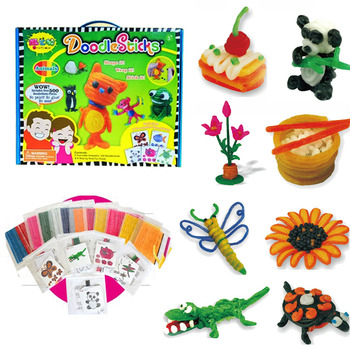 WIKKI STIX Art and Craft  Doodle Molding & Sculpting Sticks
