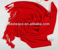 Black silk solid pashmina shawls/scarves wholesale