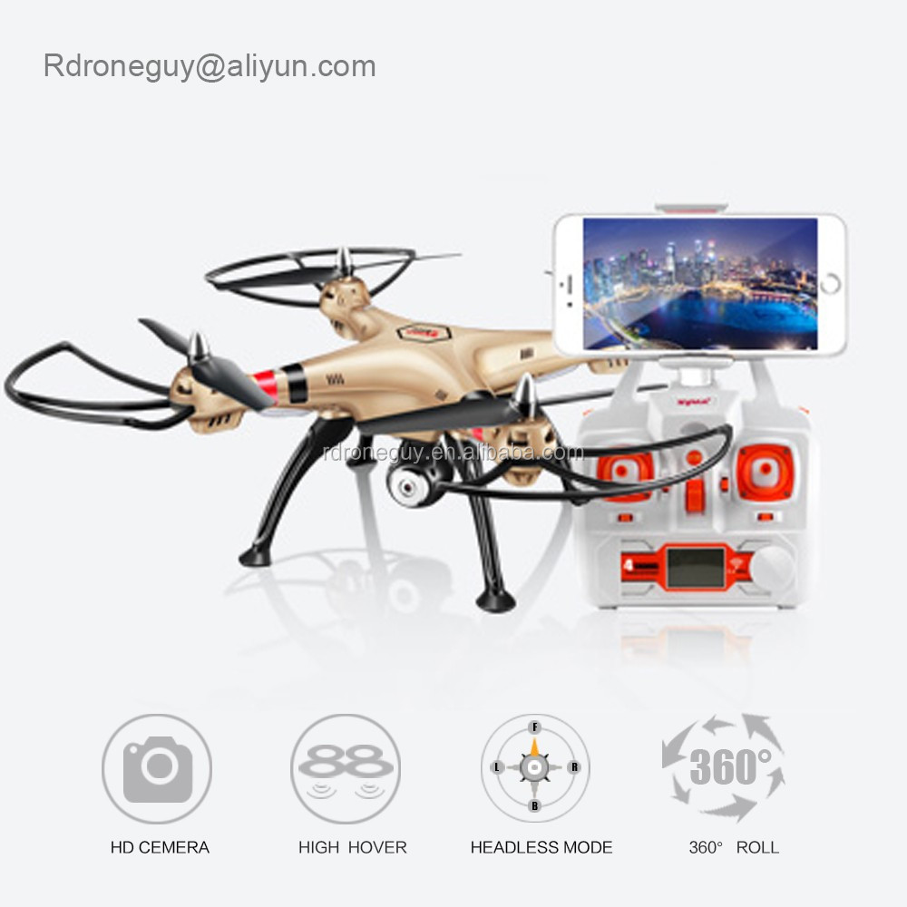 2017 NEW Original RC Syma X8HG drones with hd camera and gps Real-time Headless Quadcopter Drone fpv camera
