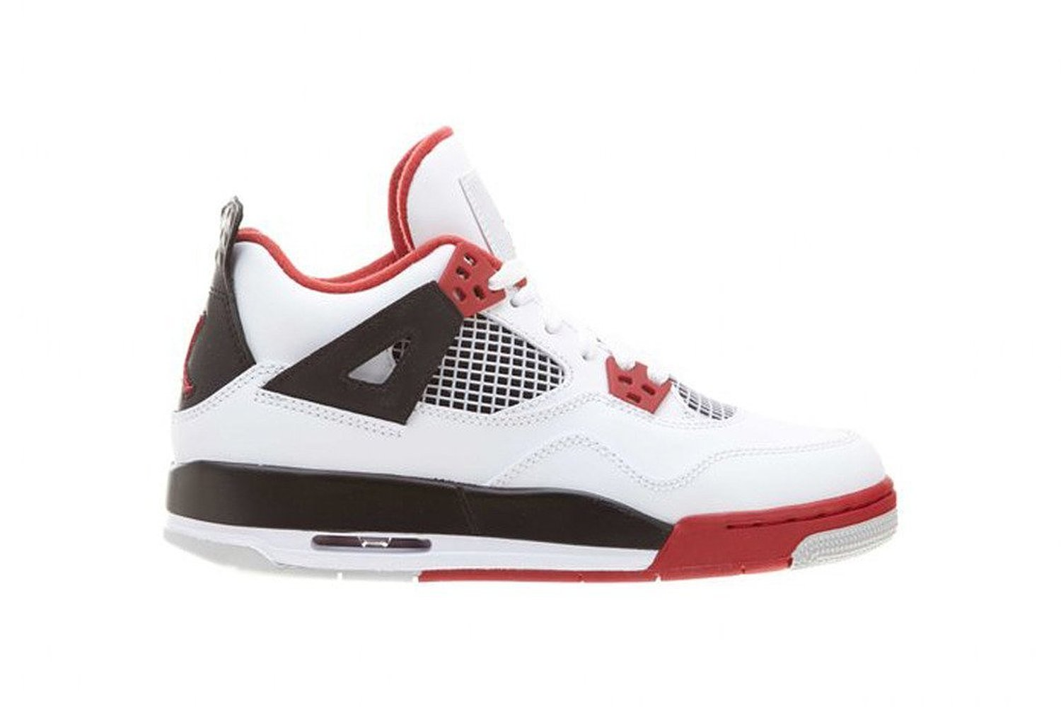 """Air 4 Retro JORDA ® Retro """"Cement"""" shoes Basketball Leather Sneakers Shoes Athletic For Men"""