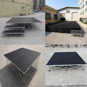 cheap portable outdoor dance event stage platform boards for sale