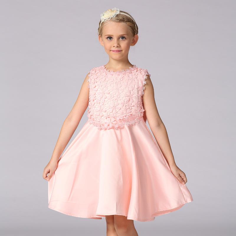 Venta al por mayor vestidos de fiesta para niña de 8 años-Compre ...