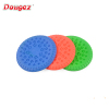 Factory Hi-Q Multicolor Silicone Pet Dog Toy Training Soft Frisbee intellectual dog toy