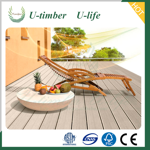 Advanced design and color WPC composite decking floor