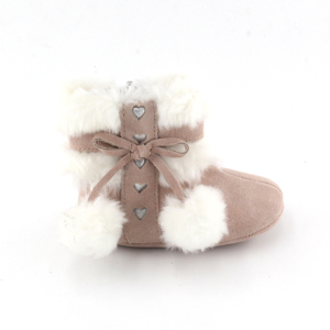 2018 Toddler Girls Shoes Soft Warm Baby Winter Boot
