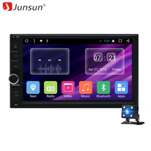 "Junsun 7 ""2 Din Android Car DVD Radio <span class=keywords><strong>Multimedia</strong></span> Gioco Universale Per Nissan GPS Navi Headunit Radio Stereo Video player (No DVD)"