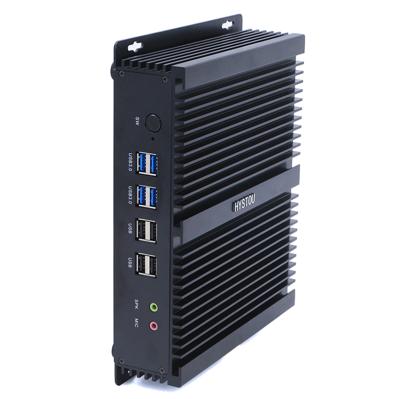 Industrial Computer Win10 Processor Core i7 4500U with Dual Intel NIC 8G RAM 128 SSD Mini <strong>PC</strong>