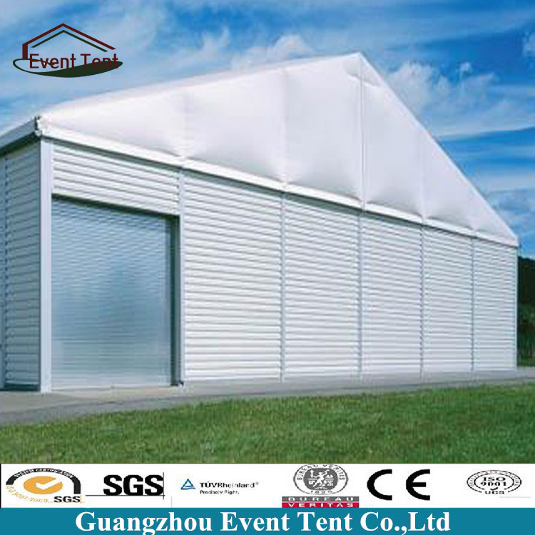 White Color Size Customized Industrial Used Waterproof Fireproof Material Storage Tent