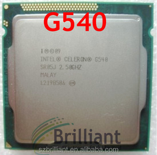 Celeron G540 Dual Core Processor 2.5GHz LGA 1155 desktop cpu