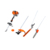 multifunction garden tool machine tiller/ sweeper/brush cutter /chainsaw/hedge trimmer tools